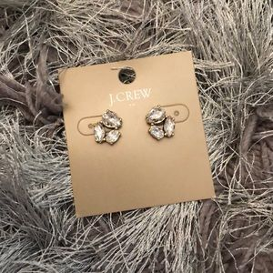 J. Crew Diamond Earrings